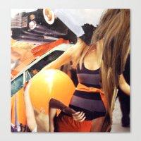 "vogue Canvas Prints featuring ""Vogue"" by C A R E Y  M O R T O N"