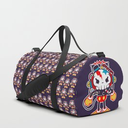 skull bolt Duffle Bag