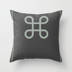 Command Bowen Knot Throw Pillow