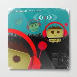 Phonobot - 01 Metal Print