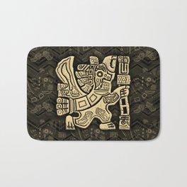 Aztec Eagle Warrior Bath Mat