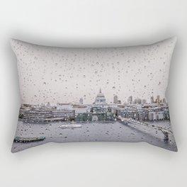 Rainy St. Paul's Rectangular Pillow