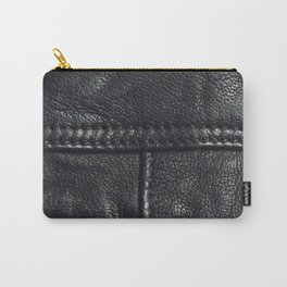 Leather texture Carry-All Pouch