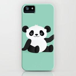Happy Panda iPhone Case