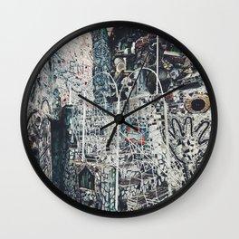 magic gardens Wall Clock