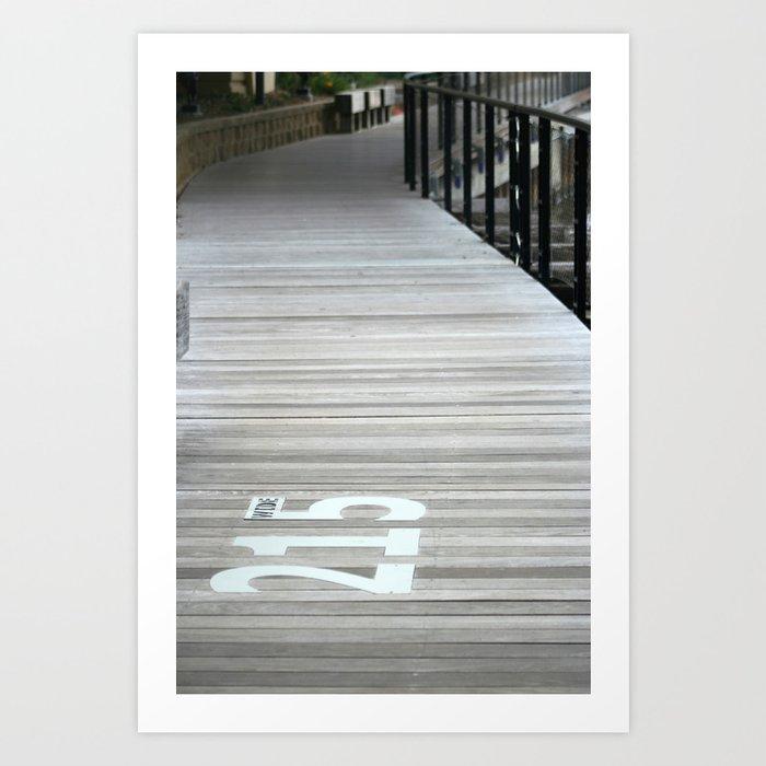 215Wide Art Print