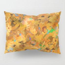 Golden Garden Pillow Sham