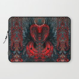 Seen Through Flames and Ashes Laptop Sleeve