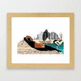 Gabriela Mistral 2 era prosa Framed Art Print