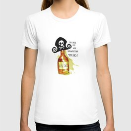 Drink Up Me Hearties Yo Ho! T-shirt