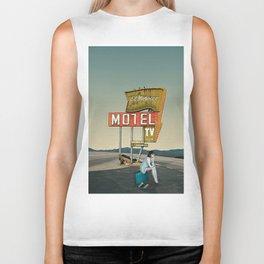 motel solitude Biker Tank