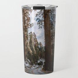 Giant Forest Exploring Travel Mug
