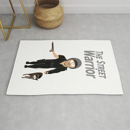 The Street Warrior Poster From Stan Marsh's Room Without Background Rug