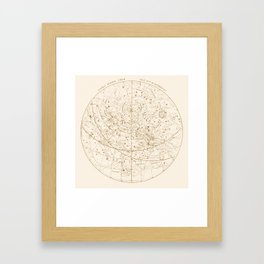 Visible Heavens - Gold Framed Art Print