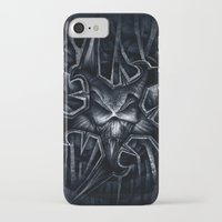 evil iPhone & iPod Cases featuring Evil by GLR67