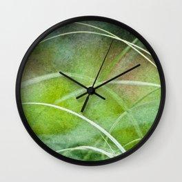 Herbes folles Wall Clock
