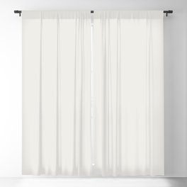 Off White Solid Color Pairs w/ Sherwin Williams 2020 Trending Color Pure White SW7005 Blackout Curtain