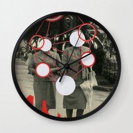 Molecules Wall Clock