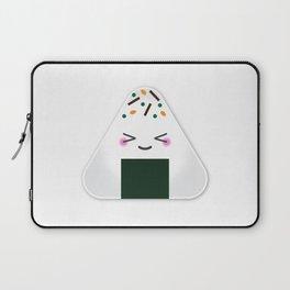 Happy onigiri Laptop Sleeve