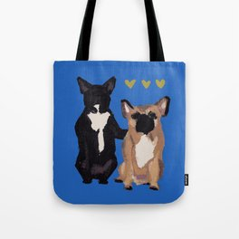 BFF dogs Tote Bag