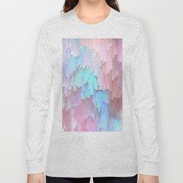 Pastel Glitches Fall Long Sleeve T-shirt