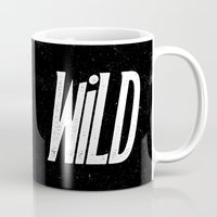 into the wild Mugs featuring Wild by Josh LaFayette