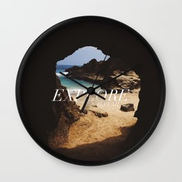 EXPLORE HAWAII Wall Clock