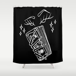 Cut the Check Shower Curtain