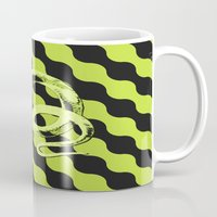 snake Mugs featuring Snake by LoRo  Art & Pictures