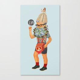 JSW MASCOT BOY Canvas Print