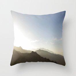 Revery Mountain Throw Pillow