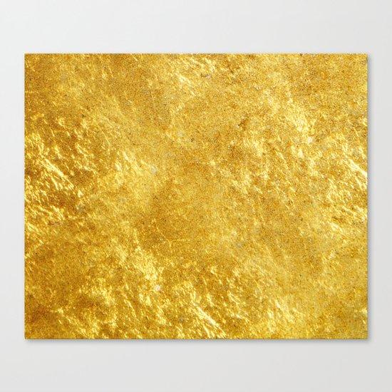 Golden Texture #lifestyle #society6 Canvas Print