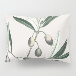 Olive Tree Branch Pillow Sham