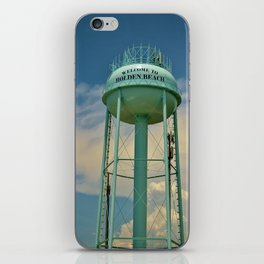 Tower And Clouds iPhone Skin