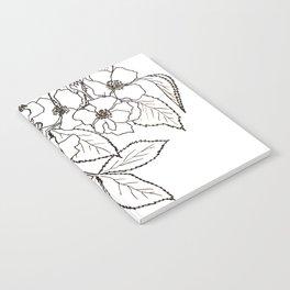 Vine Roses Notebook