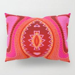 Grasshopper Love Abstract  Pillow Sham