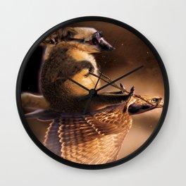 Fly Boys Wall Clock