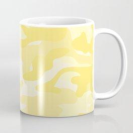 light Yellow Military Camouflage Pattern Coffee Mug