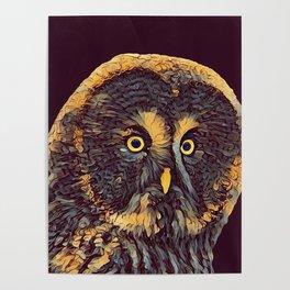 THE OWL 001 - The Dark Animal Series Poster