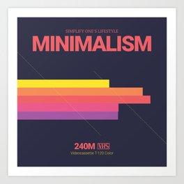MINIMALISM #2 Art Print