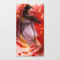 vietnam Canvas Prints featuring Vietnam by Steve Goad