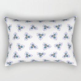 Flower Painting | MORAEA VILLAS | Watercolour | Nature Rectangular Pillow