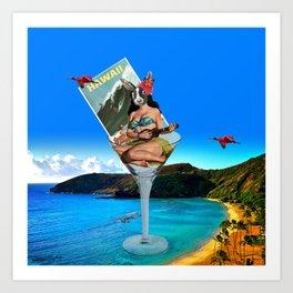 Hawaiian Dream Art Print