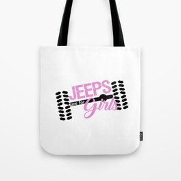 Jeeps are for Girls Tote Bag