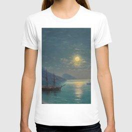 Evening in Crimea by Ivan Aivazovsky T-shirt