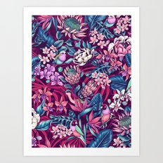 Stand Out! (ultraviolet) Art Print