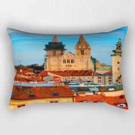 Croatia Cathedral Rectangular Pillow