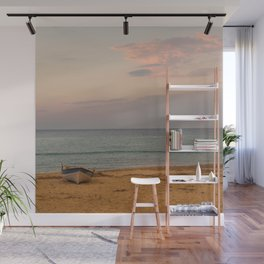 Sunset at the Beach in Greece Wall Mural