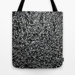 Black Lava Tote Bag