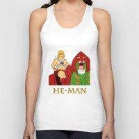 he man Tank Tops featuring He-Man by Dano77